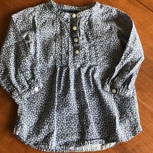 Floral Print Woven Shirt